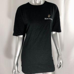 Remy Martin Plain Black T-Shirt Size XXL